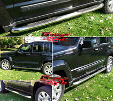 """3"""" NerfBar Stainless Steel FOR 2008-2013 JEEP LIBERTY"""