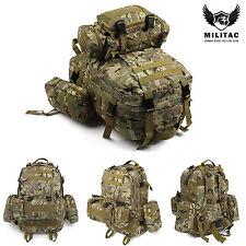 50L Multicam Tactical Molle Assault Backpack / MTP Military Rucksack Hiking bag