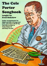 THE COLE PORTER SONGBOOK Jazz Guitar Video DVD Lessons and TABs by Fred Sokolow