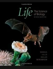 Life the science of biology 9th edition, BRAND NEW in original shrink-wrap Instr