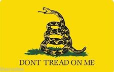 DON'T TREAD ON ME BUMPER STICKER GADSDEN FLAG STICKER DECAL MADE IN USA