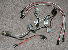 EMG Solderless EZ-INSTALL Wiring KIT Les Paul Metallica James Iron Cross JH 3Way