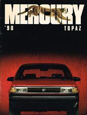 1990 Mercury TOPAZ Brochure / Catalog : GS,LS,XR5,LTS,XR-5