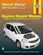 Nissan Versa 2007 thru 2014 All models (Haynes Repair Manual), Editors of Haynes