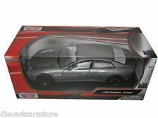 MotorMax Lamborghini Estoque Grey/Silver 1/24 Diecast Car Model 73366GRY