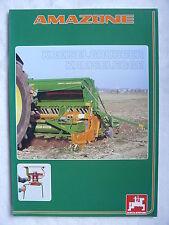 0234) AMAZONE - Kreiselgrubber & Kreiselegge - Prospekt Brochure 01.1999
