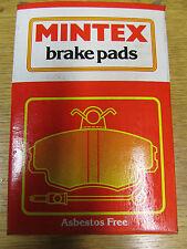 Mintex Genuino Nuevo En Caja Frontal Pastillas De Freno mgb692af Ford Granada 1977-1984
