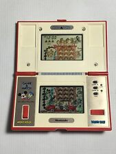 NINTENDO GAME & WATCH MICKEY & DONALD HANDHELD MULTISCREEN CONSOLE - WORKING!