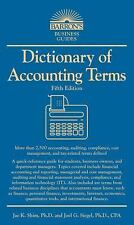 NEW - Dictionary of Accounting Terms (Barron's Dictionary of Accounting Terms)