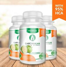 Lot 3 Pack Garcinia Cambogia 100 Pure (Natural Weight Loss 95% HCA Diet) 1540MG