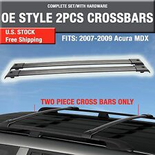 2007-2009 Acura MDX Roof Rack Cross Bar Crossbar OE Style - 2PCS Complete Kit-