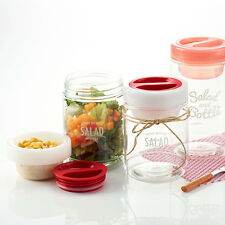 Salad To Go Serving Cup With Dressing Container(750ml)_Source Fresh Fruit