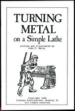 Turning Metal on a Simple Lathe by Maloy (Lindsay how to book)