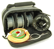 NEW ROVEX RADION #7/8 CASSETTE FLY REEL & FREE FLY LINE