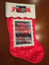 Marvel Spider-Man Christmas Stocking with 3D Hologram
