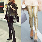 Great Sale Women Clubwear Sequins Leggings Skinny Stretchy Slim Paillette Pants