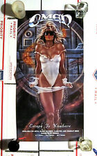 OMEN ESCAPE TO NOWHERE PROMO POSTER 12.5 W X 24 L HELSTAR MANOWAR SATAN WARLORD