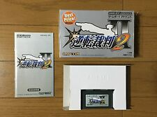 phoenix wright ace attorney 2 GBA, Japanese version, FREE SHIPPING