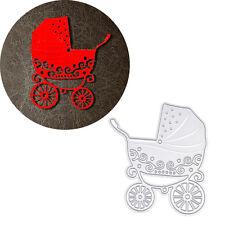 bebé Carro Silla de paseo Esténciles De Corte Plantillas BRICOLAJE Manualidades