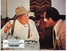 JACK NICHOLSON  JOHN HUSTON CHINATOWN 1974  VINTAGE PHOTO LOBBY CARD N°11