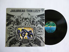 THIN LIZZY ~ JAILBREAK ~ 9102 008 ~ EX/VG+ ~ 1976 UK VERTIGO 1ST PRESS VINYL LP
