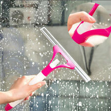 Stylish Car Cleaning Washing Brush House Magic Spray Type Glass Wiper (Random)