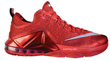 Nike LeBron 12 XII Low Red All Over Size 11. 724557-616 bhm what the all star