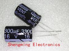 20pcs 3300uF 16V Electrolytic Capacitor 16V3300UF 13x20mm