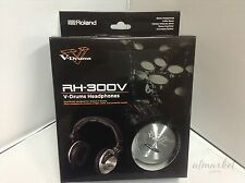 Roland RH-300V V-Drums Headphones from JAPAN SPEED POST NEW
