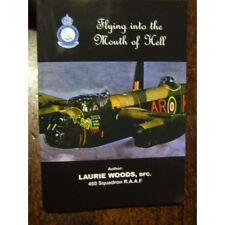 460 Sqn RAAF WW2 Flying Mouth of Hell Signed by Veteran DFC Bomber Command WW2