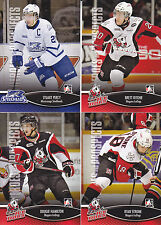 2012-13 Heroes & Prospects Stuart Percy #66 Mississauga Steelheads