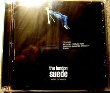 New! THE LONDON SUEDE Audio CD + DVD (Factory Sealed/2016)