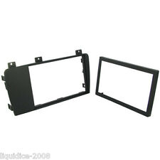CT24VL08 VOLVO V70 2004 to 2007 BLACK DOUBLE DIN CAR FASCIA ADAPTER FRAME