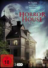 9 Haus Film HORROR HOUSE BOX Amityville SHINING Winchester SALEM DVD nuovo