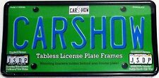 **New Unique Patent Design Tabless License Plate Frame Kit. Elegant and Clean**