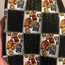 Vintage Structure Men's Necktie Neck Tie - Cars - Vehicles - Automobiles
