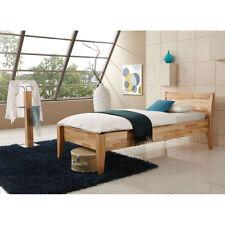 Komfortbett 90x220 KATHY 2 Seniorenbett Bett Futonbett Buche natur lackiert
