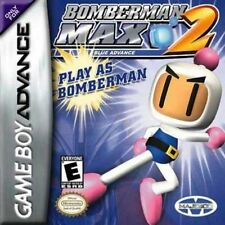 Bomberman MAX 2: Blue Advance - Game Boy Advance GBA Game