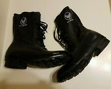 KOREAN WAR ERA US AIR FORCE PILOTS RUBBER FLYING BOOTS NOVEMBER 1956 SIZE 9EE