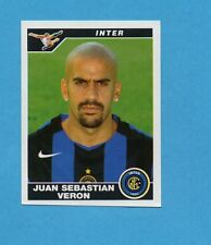 PANINI CALCIATORI 2004-05- Figurina n.162- VERON - INTER -NEW