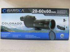 Barska Colorado 20-60x60mm Spotting Scope w/ Adjustable Tripod ~ Same Day Ship