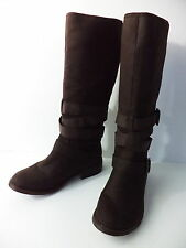 ROCKET DOG BROWN PULL ON MID CALF BOOTS WOMENS 6M