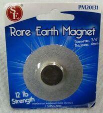 """New 12LB Rare Earth Magnet Round Capacity Neodymium Dia 3/4"""" #PM20131"""