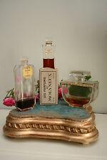 Antique 1930's Deco Perfume Bottles Rocaille, Crepe de Chine, Le Numero Cinq