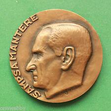 1973 finlande medallion-Sampsa Mantere 1913 1994-rédacteur en chef de journal SNo38675