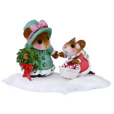 COME ALONG - IT's CHRISTMAS! by Wee Forest Folk, WFF# M-497, Christmas Mouse
