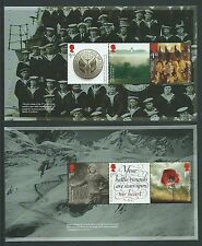 GREAT BRITAIN 2016 THE GREAT WAR 1916 2 PANES PRESTIGE BOOK UNMOUNTED MINT, MNH