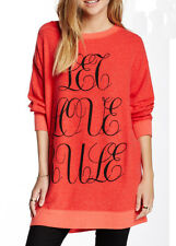 Wildfox Couture Let Love Rule Road Trip Sweater Dress Size XS