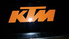 KTM decal sticker. 100mm x1 pcs