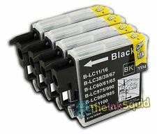 4 Compatible LC985 (LC39) Ink Cartridges for Brother DCP / MFC Printer Models